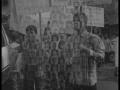Enfants victimes de la catastrophe, musée de Tchernobyl à Kiev. Manifestation anniversaire, Bhopal.