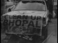 Sol jonché de débris, Pripiat. Manifestation anniversaire, Bhopal.