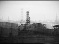 Réacteur n° 4 de la centrale nucléaire Vladimir Illitch Lénine dite de Tchernobyl.