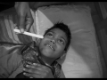Mahima Damade : 7 ans, retard mental et paralysie cérébrale, affectée par le gaz, habite en zone contaminée.